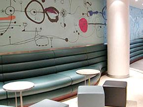 Conran Interiors Bar & Restaurant Space Innovation Wallcoverings 05