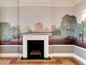 HYDE PARK_Wallpaper Mural Install_GEORGIA HORTON