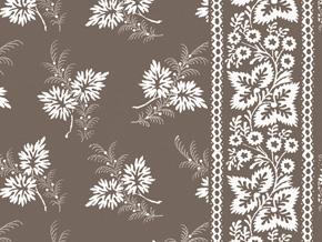 Mond Designs Wallpaper Fern Stripe Tobacco
