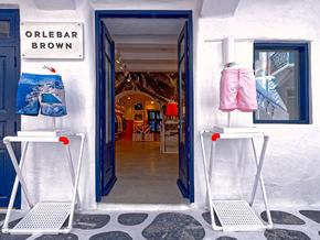 Orlebar Brown MYKONOS Store Front