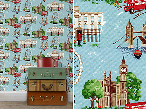 Cath Kidston Wallpaper_BIG SMOKE_Space Innovation