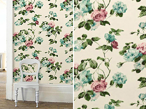 Cath Kidston Wallpaper_WILD ROSE_Space Innovation