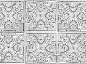Space Innovation_Tin Tiles_Trompe L'oiel Wallpaper_06