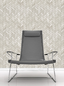 CHEVRON WALLCOVERING 01